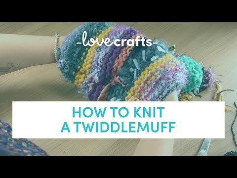 How to Knit - Twiddlemuff   LoveKnitting