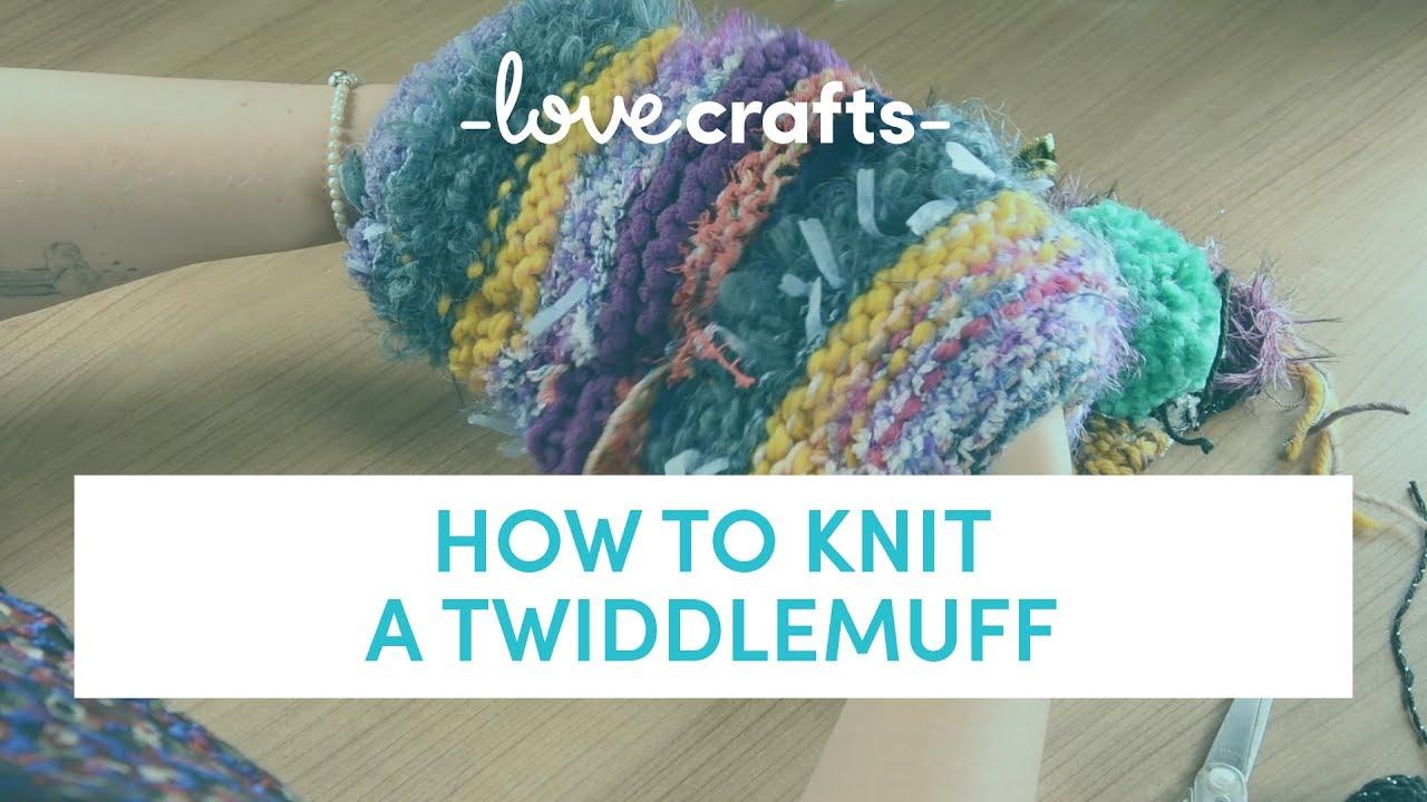 How To Knit Twiddlemuff YouTube