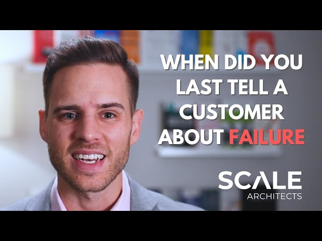 When was the last time you told a potential customer they could fail?