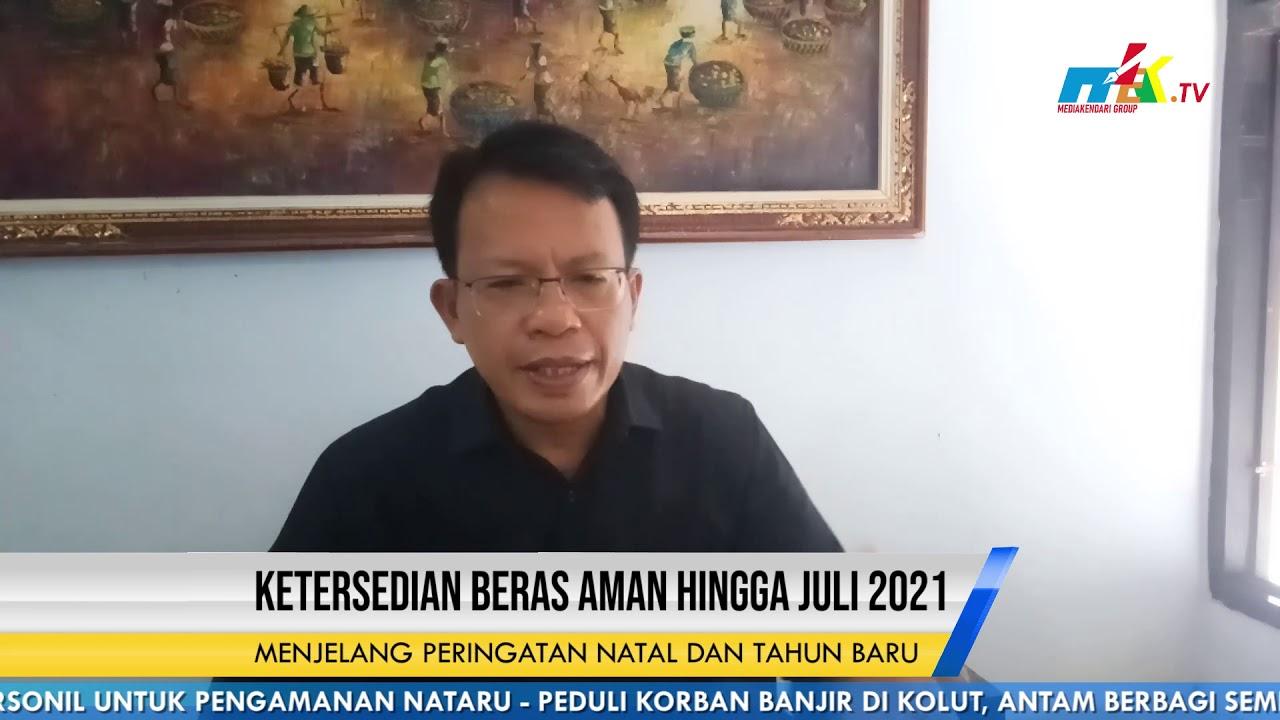 Bulog Sultra Ketersedian Beras Aman Hingga Juli 2021