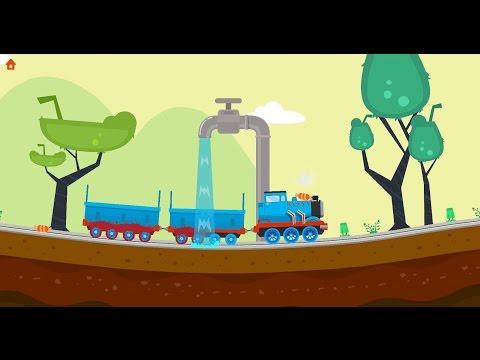 Смотреть онлайн мультфильм приключения маленького паровозика