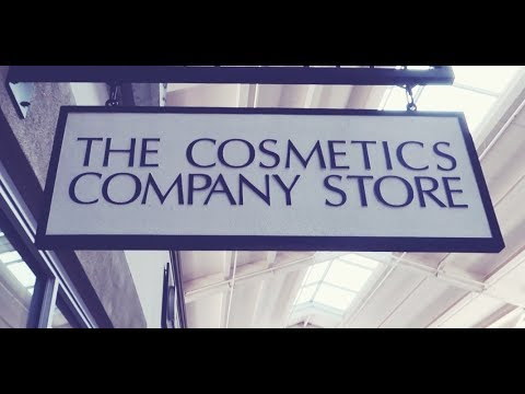 Shop With Me: The Cosmetics Company Store!