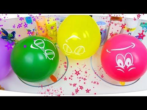 3 Renk Tutkal İle Slime Challenge! 3 Colors of Glue Slime Challenge