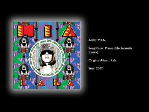 M.I.A. - Paper Planes (Electromatic Remix)