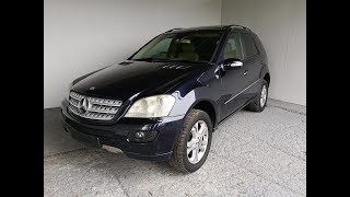 (SOLD) Automatic Turbo Diesel 4×4 SUV Mercedes Benz ML320 2006 Review