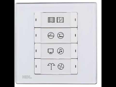 HDL BUS Smart Scene Switch