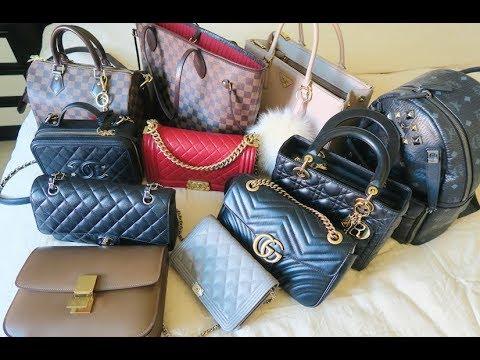 8f6dc7aadb My Entire Handbag Collection 2018