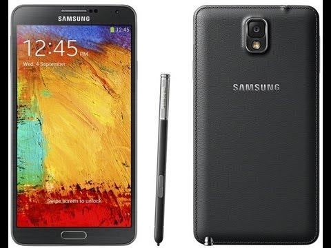 ١- فتح صندوق الجلاكسي نوت ٣ والتصوير بالآي فون ٥ إس - Galaxy Note 3