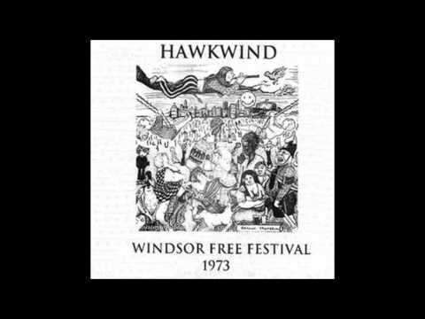 Hawkwind - Windsor Free Festival - Windsor Great Park, London, 25th August, 1973
