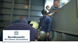 Unter Druck: Der Truppführer bei der Leck- und Brandabwehr - Bundeswehr