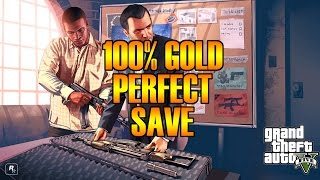GTA 5 100% Gold Perfect Save PC Download