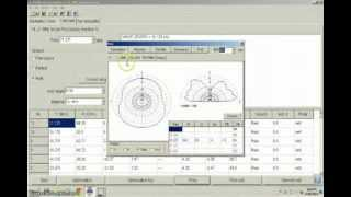 Designing 14 & 21 MHz Single-Fed Double Inverted Vs Using MMANA-GAL Free Software