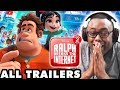 Watching ALL Ralph Breaks the Internet Trailers! Wreck-It Ralph 2 Reaction