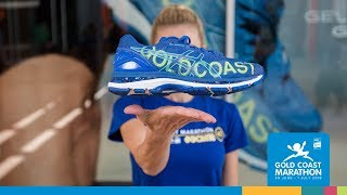 Presenting the ASICS special edition Gold Coast shoe
