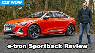 Audi e-tron S Sportback: Quicker and better than a Model X?