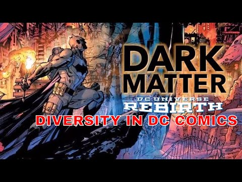 DC COMICS FIRST STEP TO DIVERSITY IN THE DC UNIVERSE
