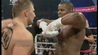 Iron Raul Catinas vs Carter Williams K-1 Bucharest Romania