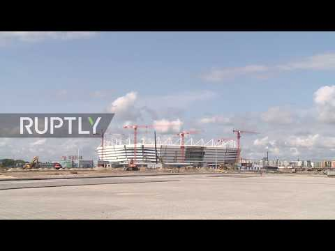 Russia: Take a peek at Kaliningrad's state of the art 2018 World Cup stadium