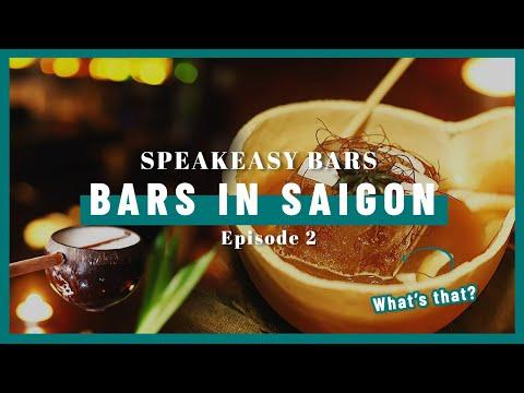 BARS IN SAIGON: Speakeasy Hidden Bars in Ho Chi Minh City, Vietnam Ep.2