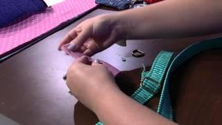Bolsa em patchwork por Regina Heitor Parte 2