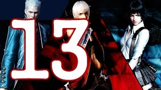 Devil May Cry 3 / DMC3 HD Walkthrough - PS2 - Part 13 - Vergil Second Battle! Arkham!