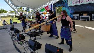 Albannach at Florida Keys Celtic Festival, 2019