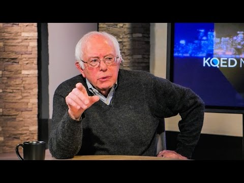 KQED NEWSROOM: Bernie Sanders Interview, Immigration Discussion