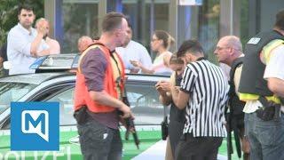Amoklauf in München: Augenzeuge berichtet Polizei von Handy-Video