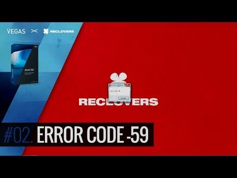VEGAS PRO 14 # 02 Error Code -59 (Tutorial)