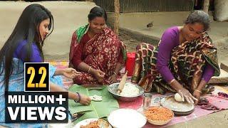 ফুলমালার দুধপুলি পিঠা   SPECIAL DESSERT RECIPE OF 'DUDH PULI PITHA' IN BANGLADESH