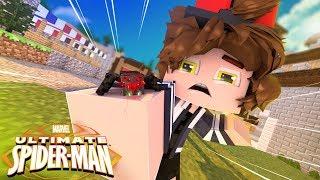 Minecraft - Homem Aranha Dourado - FUI PICADO POR UMA ARANHA RADIOATIVA !