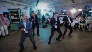 Танец жениха и друзей. Свадьба 20.09.2014
