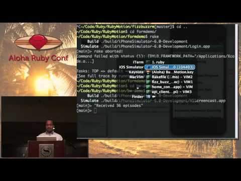 Building iOS Apps with RubyMotion by Ray Hightower