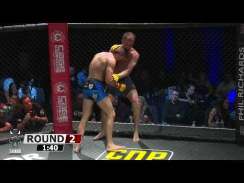 Cage Warriors Academy Pallett vs Bonner