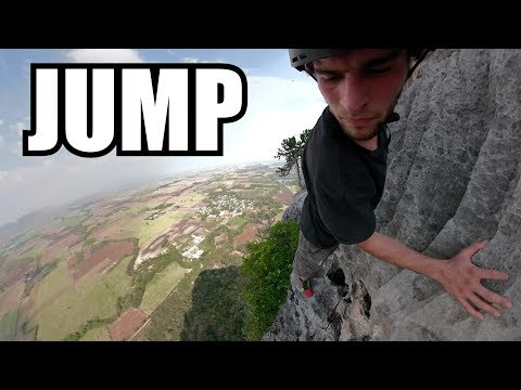 BASE Jump Above Remote Temple | Thailand Travel Vlog 4