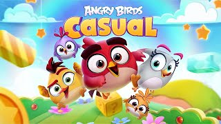 Angry Birds Casual Level 1-20 - iOS / Android Walkthrough Gameplay