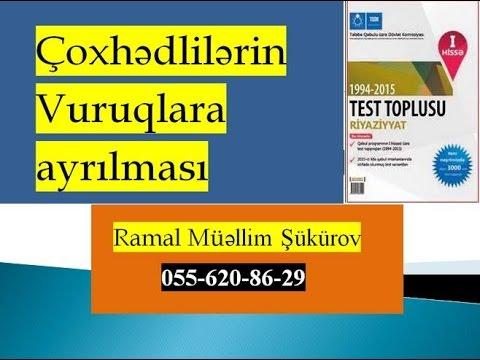 Çoxhədlilərin vuruqlara ayrılması/Test toplusu-2014/1-50