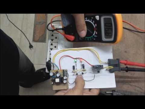 Interruptor um toque/ switch one touch -Link do esquema na descirção