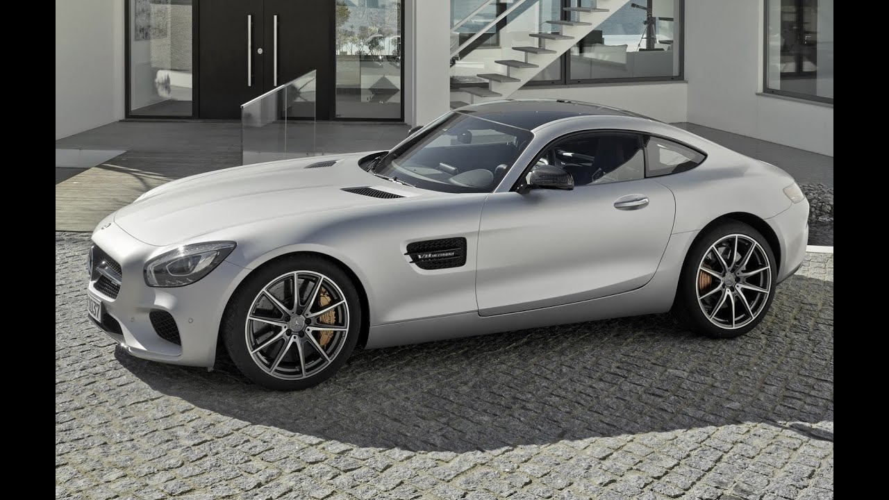 All-New 2016 Mercedes Benz AMG GT Coupe Exterior Look - YouTube