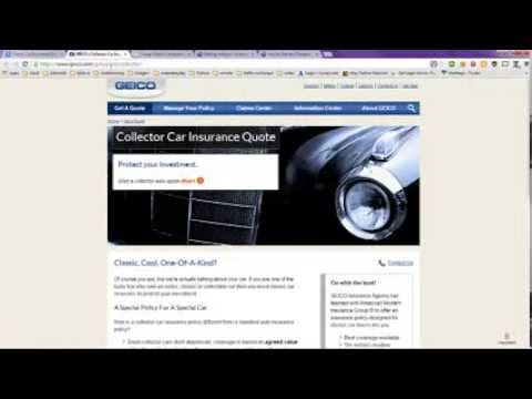Classic Car Insurance Online Quote at the Best Rate Possible