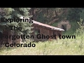 Exploring the FORGOTTEN TOWN OF CROSSONS COLORADO!