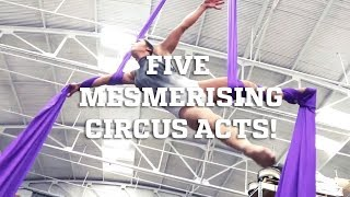 Five Mesmerizing Circus Arts!