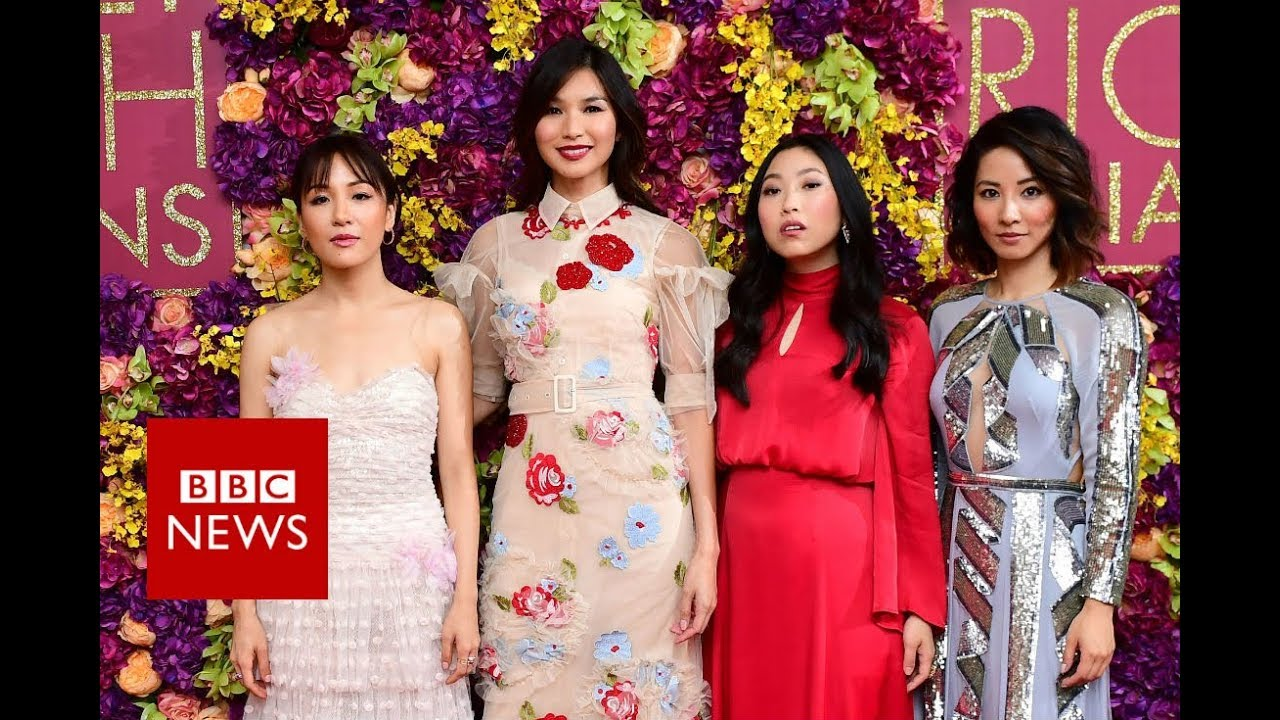 crazy rich asians: 'we want to create a movement' - bbc news - youtube