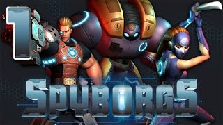 Spyborgs (Wii) Gameplay Walkthrough Part 1