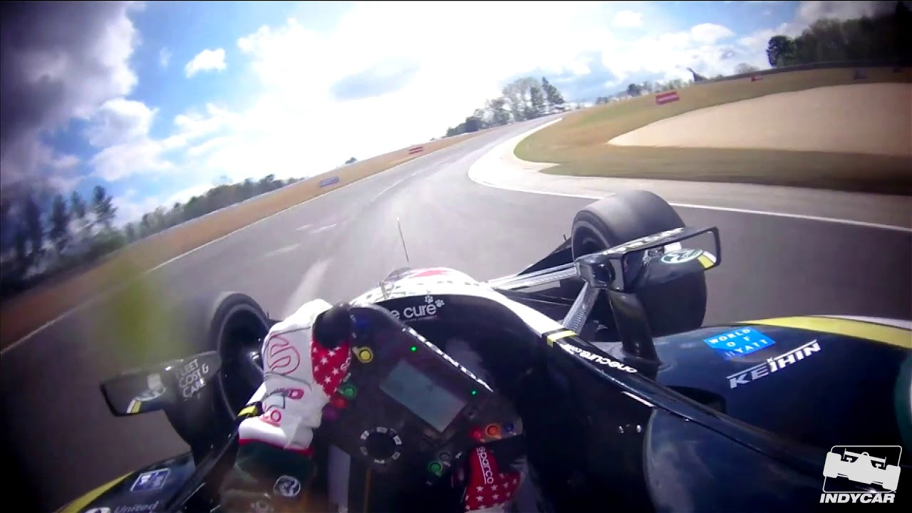 Visor Cam // Graham Rahal takes on Birmingham in 2019