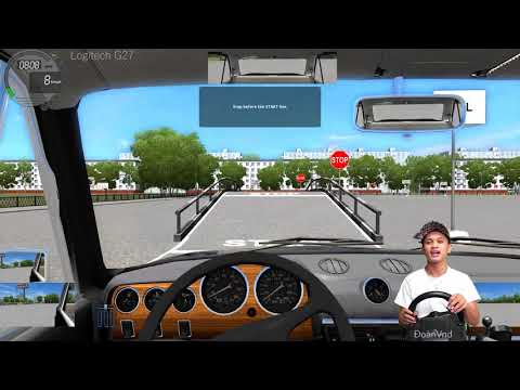 City Car Driving #3 Hill With Logitech G27