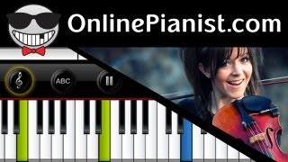 Lindsey Stirling - Zi-Zi's Journey - Piano Tutorial