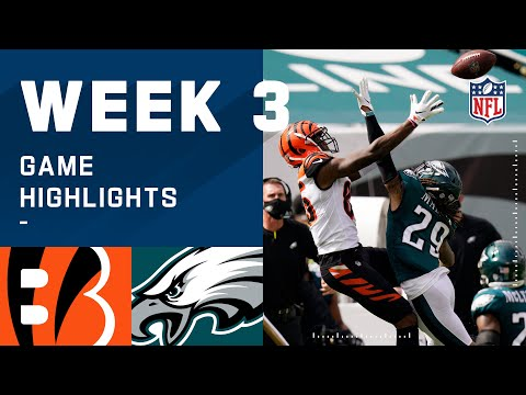 Bengals vs. Eagles Week 3 Highlights   NFL 2020