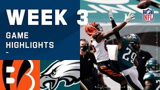 Bengals vs. Eagles Week 3 Highlights | NFL 2020