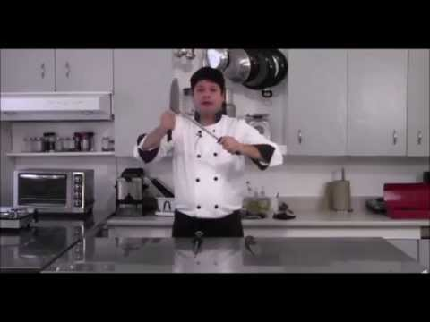CHEF CARLO TRAINS FOR IRON CHEF - EYE OF THE TIGER PARODY